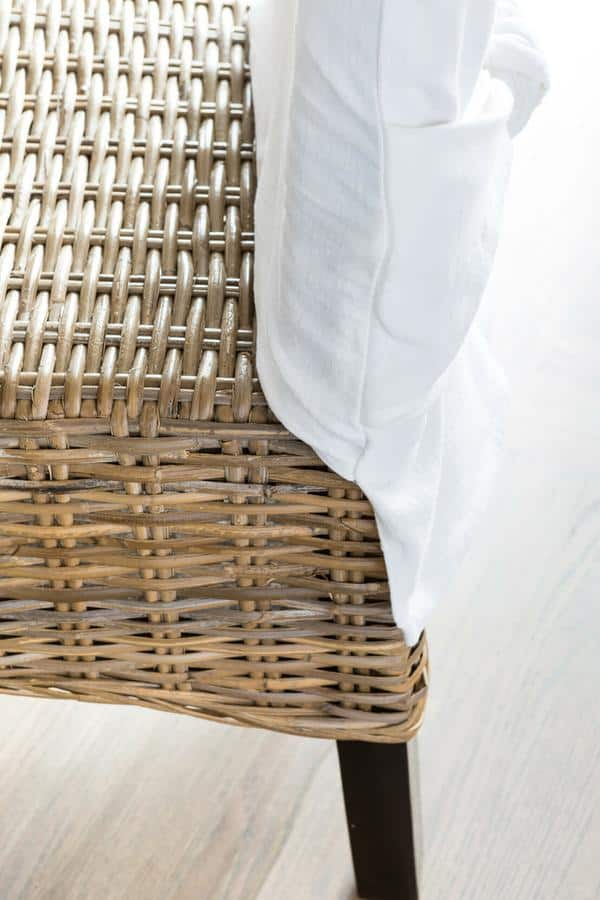 Place Over the Chair - How To Make Slipcovers For Dining Room Chairs Without Arms - ChairPicks