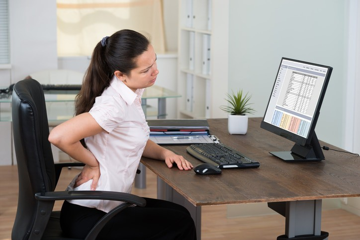 What type of office chair is best for Degenerative Disc Disease?
